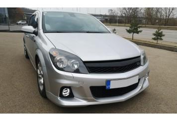 Luko Opel Astra H su mūsų OPC look bamperiu ir grotelėmis